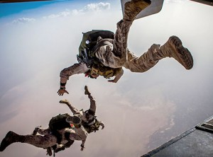 The airborne parachute system
